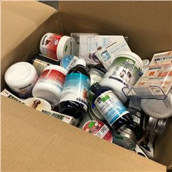 LOT OF NATURAL HEALTH PRODUCTS