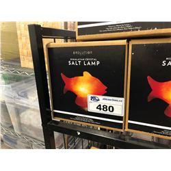 HIMALAYAN CRYSTAL SALT LAMP, FISH DESIGN