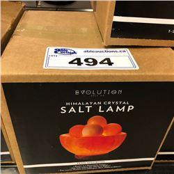 HIMALAYAN CRYSTAL SALT LAMP, FENG SHUI BOWL DESIGN