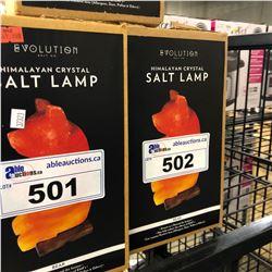 HIMALAYAN CRYSTAL SALT LAMP, BEAR DESIGN