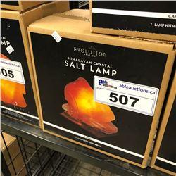 HIMALAYAN CRYSTAL SALT LAMP, CAMEL DESIGN