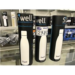 3 SWELL STAINLESS STEEL INSULATED WATER BOTTLES