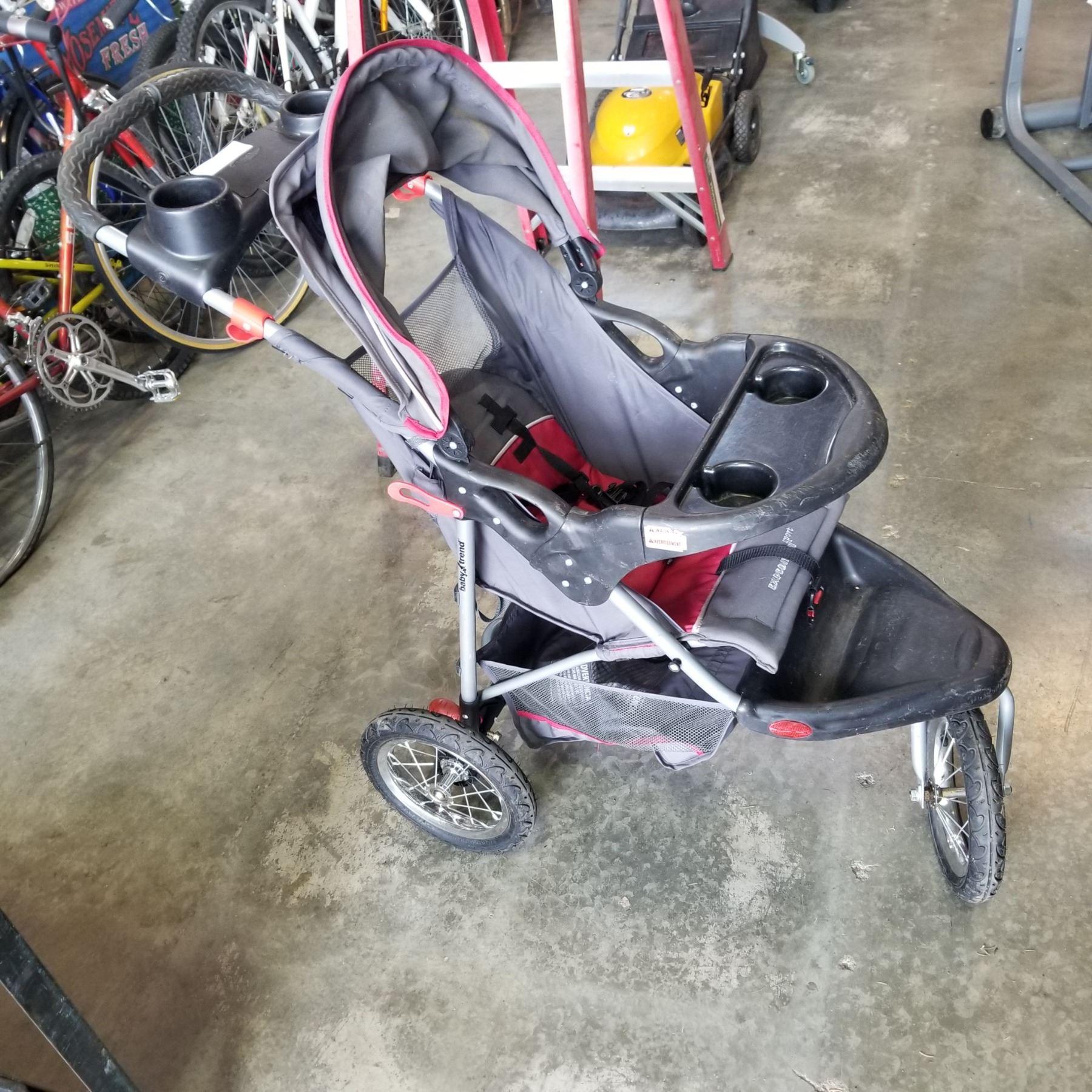 BABY TREND JOGGING STROLLER - Big Valley Auction