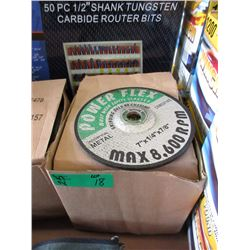 "25 New 7"" x 1/4"" x 7/8"" Grinding Wheels"