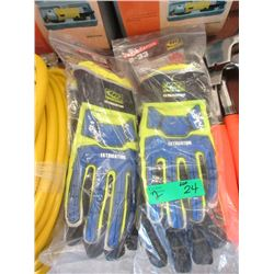 "2 Pairs of Ringers ""Extrication"" R-33 Gloves"