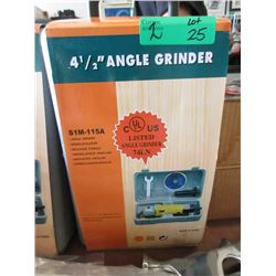 "2 New 4-1/2"" Angle Grinders"