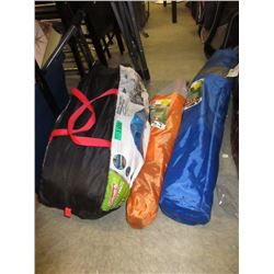 2 Folding Chairs & 8 Person Tent - Store Returns