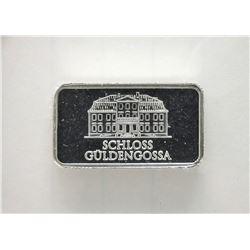 "5 Gram  ""Geiger Edelmetalle "" .999 Fine Silver Bar"