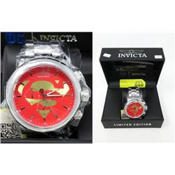 New in Box Men's Invicta DC Superman Watch