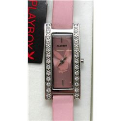 New in Box Ladies Playboy Crystal Watch