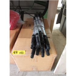 Case of 88 Screw In Telescopic Extension Poles