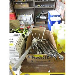 Box of Assorted New Tools