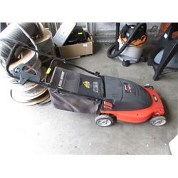"Black & Decker Electric 19"" Rear Bag Lawnmower"