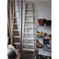 10 Foot Howard Aluminum Step Ladder