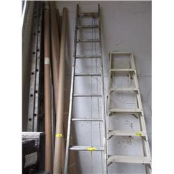 24 Foot Aluminum Extension Ladder