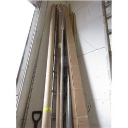 5 Boxes of Aluminum Boat Striping
