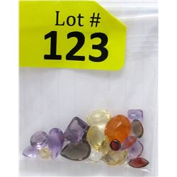 25 CTW Loose Assorted Gemstones