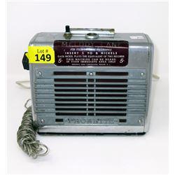 "Vintage Melody Lane ""Phonette"" Speaker"