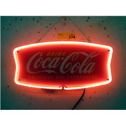 "New Electric Neon ""Coca-Cola"" Sign - 14"" x 7"""