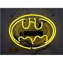 "New Electric Neon ""Batman"" Sign - 10"" x 12"""