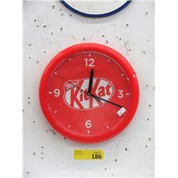 """10"""" Kit Kat Chocolate Bar Clock"""