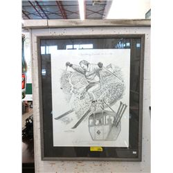 1994 Isobel MacLaurin Signed Pencil Drawing