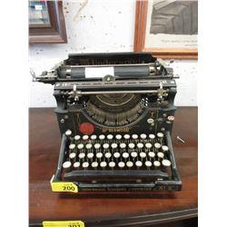 Vintage Underwood No 5 Manual Typewriter