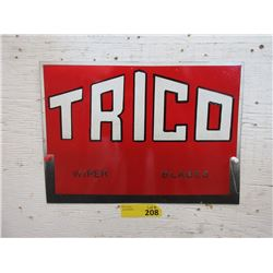 "Metal Trico Wiper Blade Sign - 10"" x 14"""