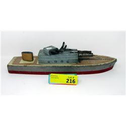 1940s/1950s Keystone WoodUS Navy Cruiser