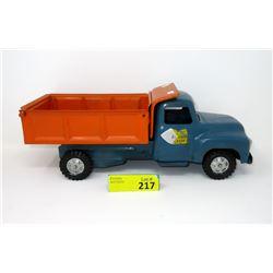 1950s Buddy L Sand & Stone Tilt Dump Truck