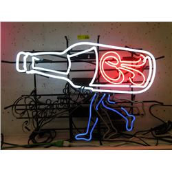 "Vintage Electric Neon ""Rainer Beer"" Sign - Moving"