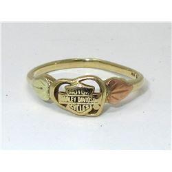 10KT Gold 1.60 Gram Harley Davidson Ring