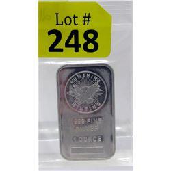 1 Oz Sunshine Minting .999 Silver Bar