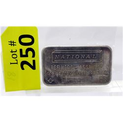 1Oz National Refiners .999 Silver Bar