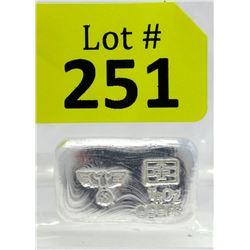 1 Oz Nazi Eagle &Swastika.999 Silver Bar