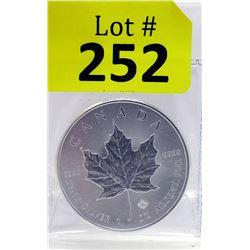 1Oz. 2016 Canada .9999 Silver Maple LeafCoin