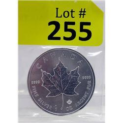 1Oz. 2019 Canada .9999 Silver Maple LeafCoin
