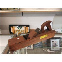 """Vintage 17"""" Wood Plane"""