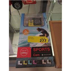 New 1080p Full HD Sports Cam - Waterproof 30M