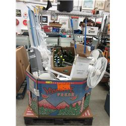 Skid of Assorted Store Return Goods & More