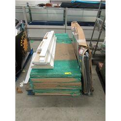 Skid of Furniture Parts - Store Returns