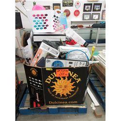 Skid of Store Return Goods - General Household