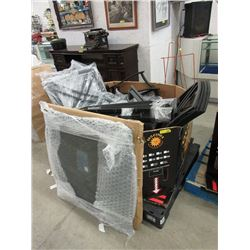 Skid of Patio Furniture Parts - Store Return