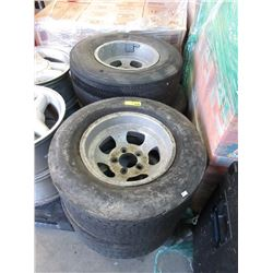 Two Sets of Two R60-14 Tire with Rims