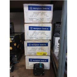 4 Cases of New Quadplex Circuit Breakers