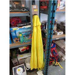 3 New Patio Umbrellas - 1 Yellow & 2 Black