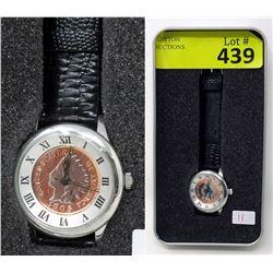 Ladies New August Steiner US Coin Watch