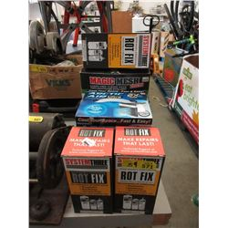 Fan, Mesh Door & 3 Boxes of Rot Fix