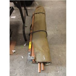 WWII Folding Canvas Cot