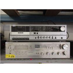 Toshiba Cassette Player & Viking 8-Track